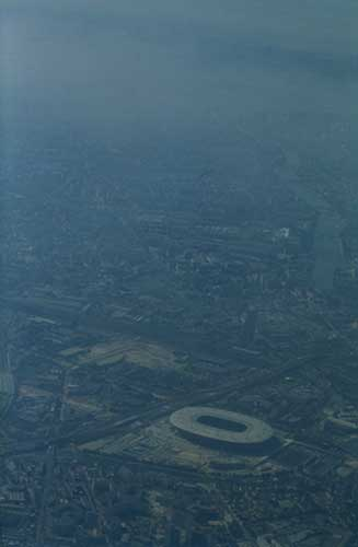 Paris: pollution à l'ozone sur le stade de France